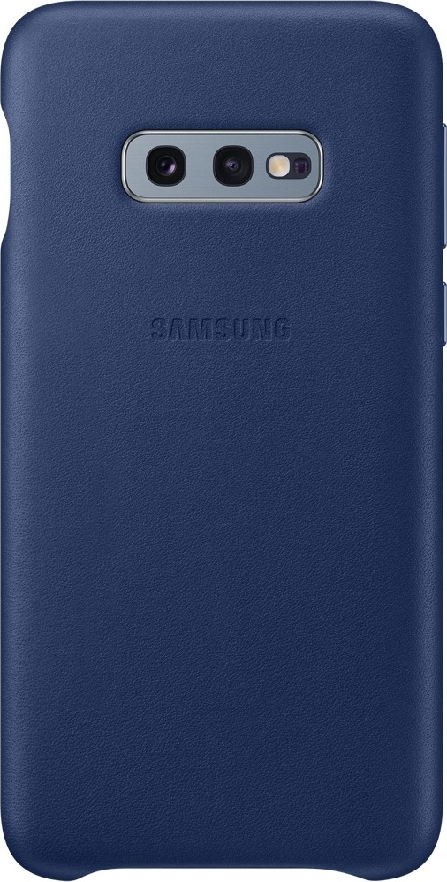 Official Samsung Leather Cover Samsung Galaxy S10e - Navy (EF-VG970LNEGWW)