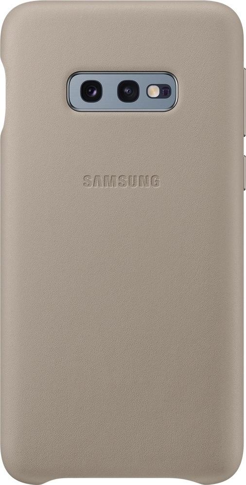 Official Δερμάτινη Θήκη Samsung Galaxy S10e - Grey (EF-VG970LJEGWW)