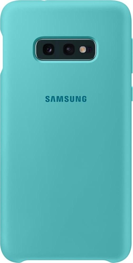 Official Samsung Θήκη Σιλικόνης Samsung Galaxy S10e - Green (EF-PG970TGEGWW)