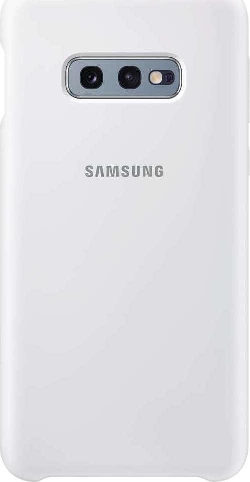 Official Samsung θήκη Σιλικόνης Samsung Galaxy S10e - White (EF-PG970TWEGWW)
