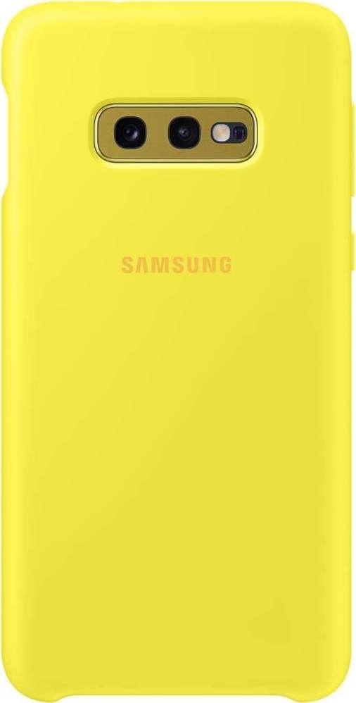 Official Samsung Θήκη Σιλικόνης Samsung Galaxy S10e - Yellow (EF-PG970TYEGWW)