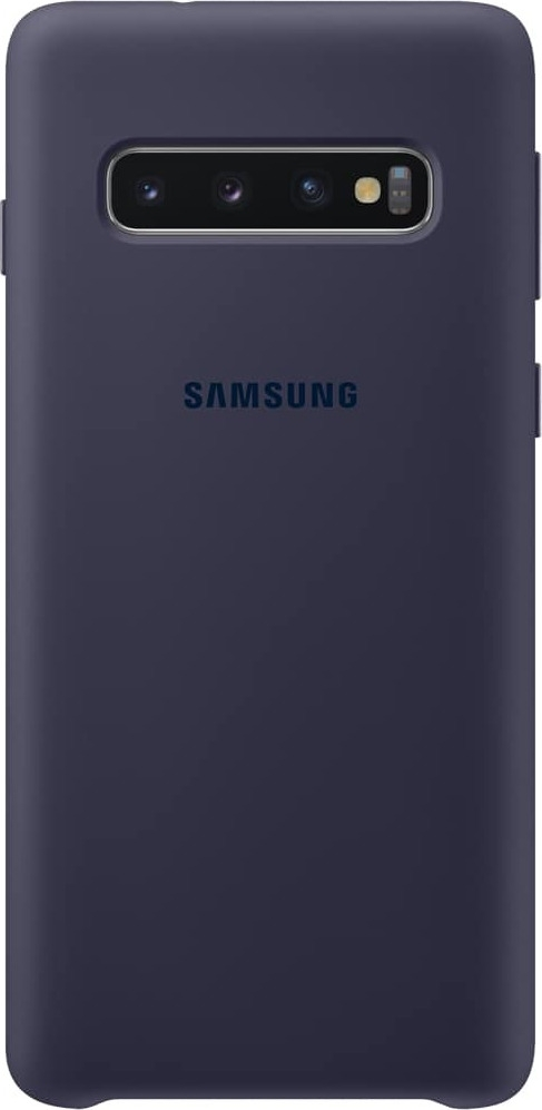 Official Samsung Θήκη Σιλικόνης Samsung Galaxy S10 - Navy (EF-PG973TNEGWW)