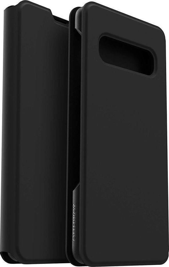 Otterbox Strada Via Series Ανθεκτική Θήκη Samsung Galaxy S10 Plus - Black (77-61687)