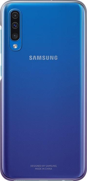 Official Samsung Gradation Cover - Σκληρή Θήκη Samsung Galaxy A50 - Violet (EF-AA505CVEGWW)