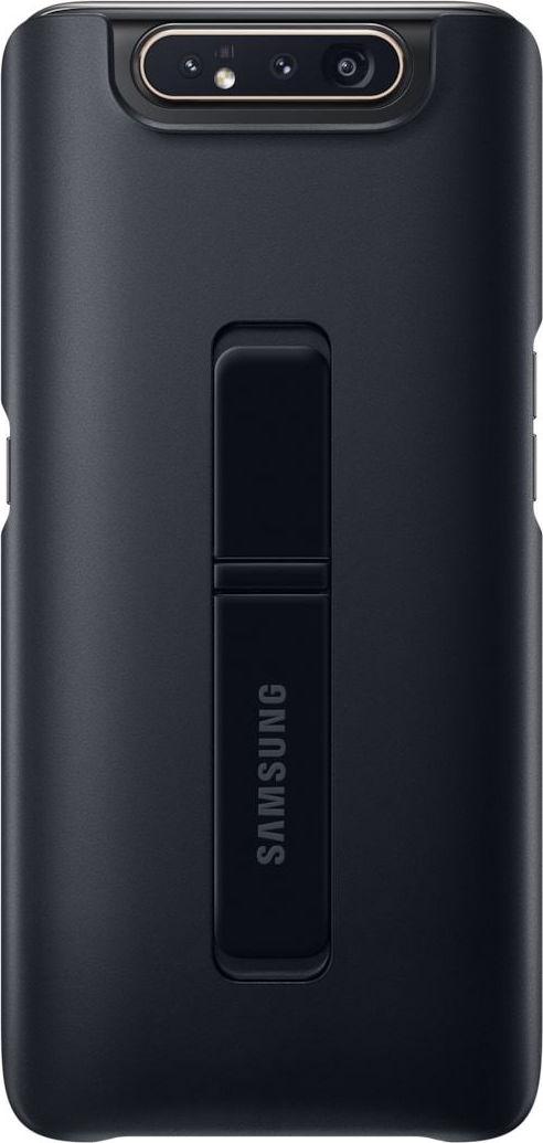Official Samsung Standing Cover Samsung Galaxy A80 - Black (EF-PA805CBEGWW)