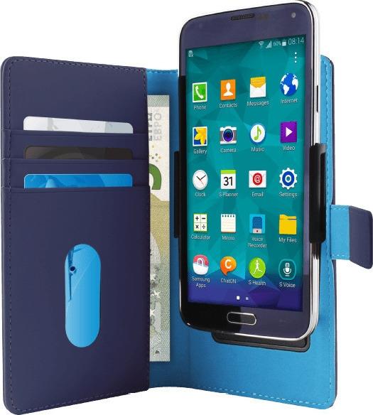 Puro Universal Θήκη Κινητών 5.1 ιντσών Size XL - Blue (UNIWALLET3-BLUEXL)