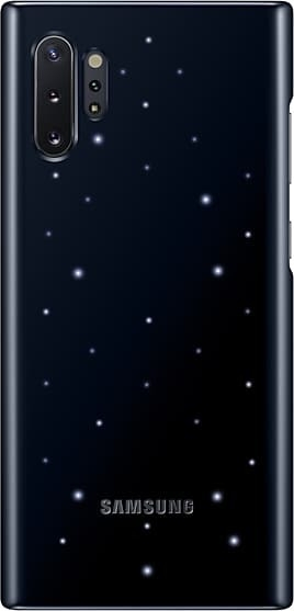 Official Samsung Led Cover Samsung Galaxy Note 10 Plus - Black (EF-KN975CBEGWW)