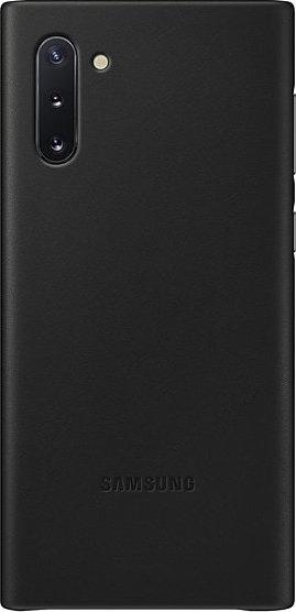 Official Samsung Δερμάτινη Θήκη Samsung Galaxy Note 10 - Black (EF-VN970LBEGWW)