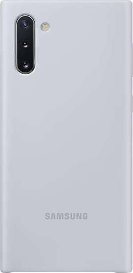 Official Samsung Θήκη Σιλικόνης Samsung Galaxy Note 10 - Silver (EF-PN970TSEGWW)
