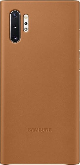 Official Samsung Δερμάτινη Θήκη Samsung Galaxy Note 10 Plus - Camel (EF-VN975LAEGWW)