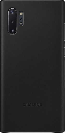 Official Samsung Δερμάτινη Θήκη Samsung Galaxy Note 10 Plus - Black (EF-VN975LBEGWW)