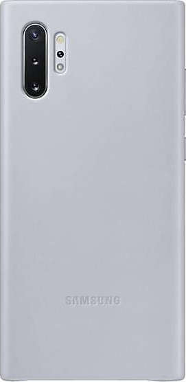 Official Samsung Δερμάτινη Θήκη Samsung Galaxy Note 10 Plus - Grey (EF-VN975LJEGWW)