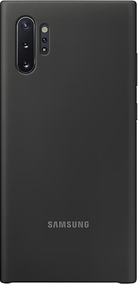 Official Samsung Θήκη Σιλικόνης Samsung Galaxy Note 10 Plus - Black (EF-PN975TBEGWW)