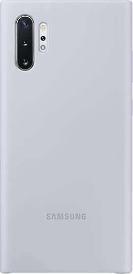Official Samsung Θήκη Σιλικόνης Samsung Galaxy Note 10 Plus - Silver (EF-PN975TSEGWW)
