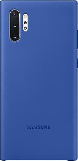 Official Samsung Silicon Cover - Θήκη Σιλικόνης Samsung Galaxy Note 10 Plus - Blue (EF-PN975TLEGWW)