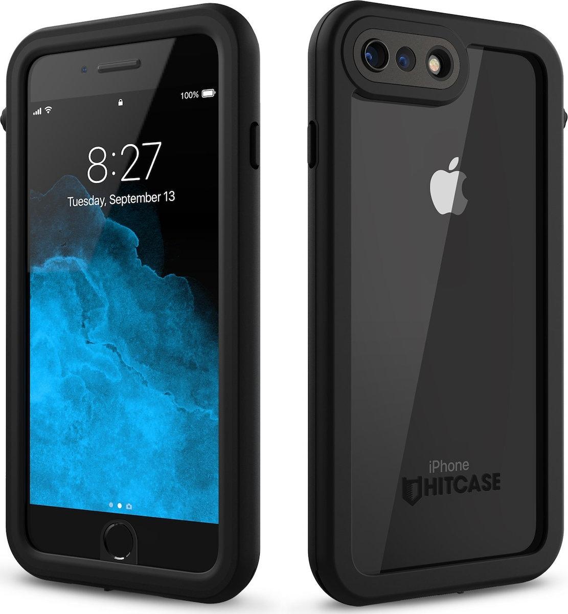 Hitcase Splash Αδιάβροχη Ανθεκτική Θήκη iPhone 7 Plus / 8 Plus - Black (HC81100)