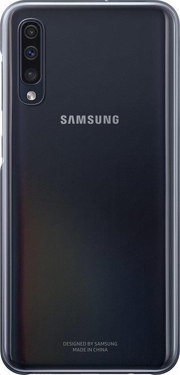 Official Samsung Gradation Cover - Σκληρή Θήκη Samsung Galaxy A50 - Black (EF-AA505CBEGWW)