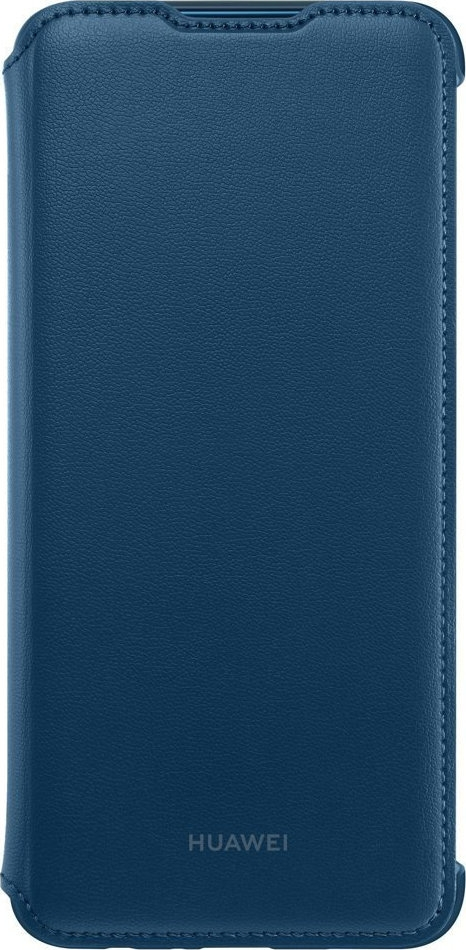 Huawei Official PU Leather Wallet Cover - Θήκη Flip Huawei P Smart 2019 - Blue (51992895)