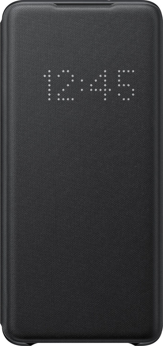 Official Samsung Led View Cover Samsung Galaxy S20 Plus - Black (EF-NG985PBEGEU)