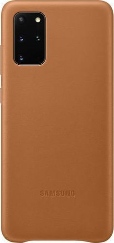 Official Samsung Δερμάτινη Θήκη Samsung Galaxy S20 Plus - Brown (EF-VG985LAEGEU)