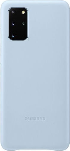 Official Samsung Δερμάτινη Θήκη Samsung Galaxy S20 Plus - Sky Blue (EF-VG985LLEGEU)