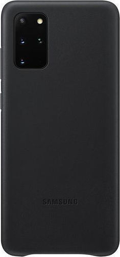 Official Samsung Δερμάτινη Θήκη Samsung Galaxy S20 Plus - Black (EF-VG985LBEGEU)