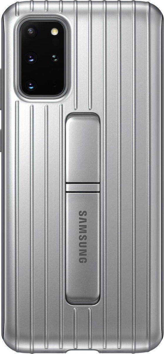 Official Samsung Protective Standing Cover Samsung Galaxy S20 Plus - Silver (EF-RG985CSEGEU)