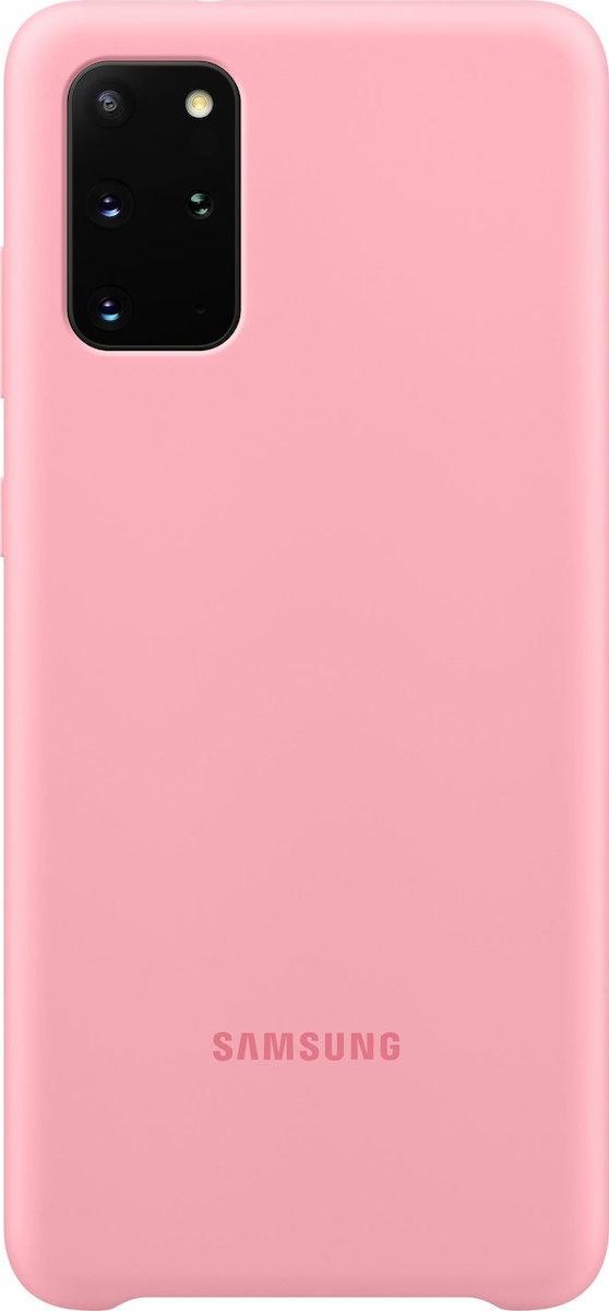 Official Samsung Θήκη Σιλικόνης Samsung Galaxy S20 Plus - Pink (EF-PG985TPEGEU)