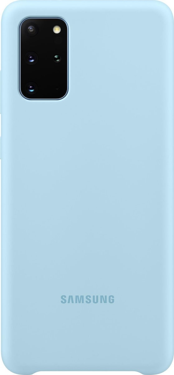 Official Samsung Θήκη Σιλικόνης Samsung Galaxy S20 Plus - Sky Blue (EF-PG985TLEGEU)