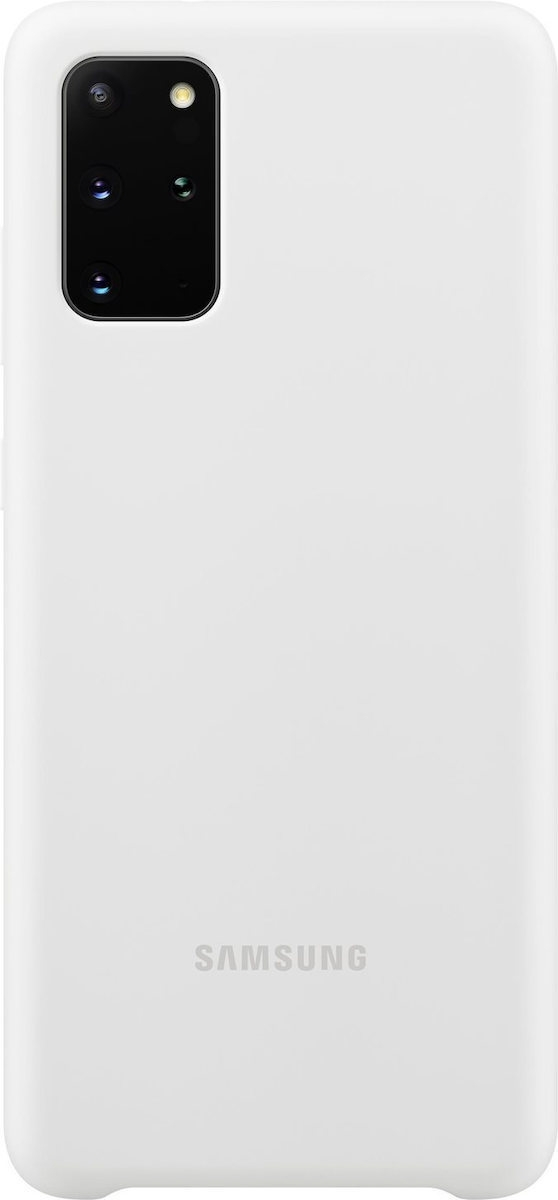 Official Samsung Θήκη Σιλικόνης Samsung Galaxy S20 Plus - White (EF-PG985TWEGEU)