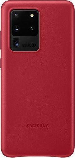 Official Samsung Δερμάτινη Θήκη Samsung Galaxy S20 Ultra - Red (EF-VG988LREGEU)