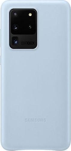 Official Samsung Δερμάτινη Θήκη Samsung Galaxy S20 Ultra - Sky Blue (EF-VG988LLEGEU)