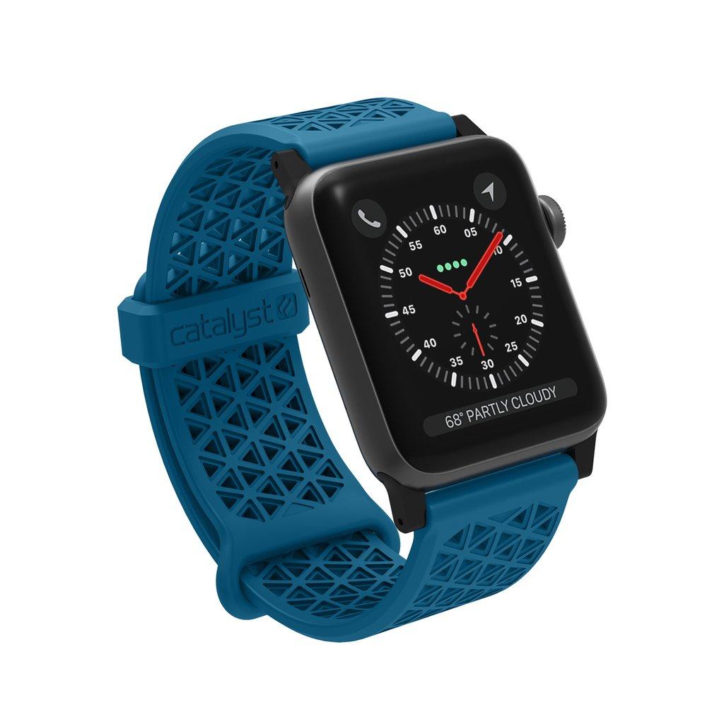 Catalyst Ανταλλακτικό Λουράκι Σιλικόνης Apple Watch 5/4/3/2/1 - 44/42mm - Blueridge/Sunset (CAT42SBTBFC)