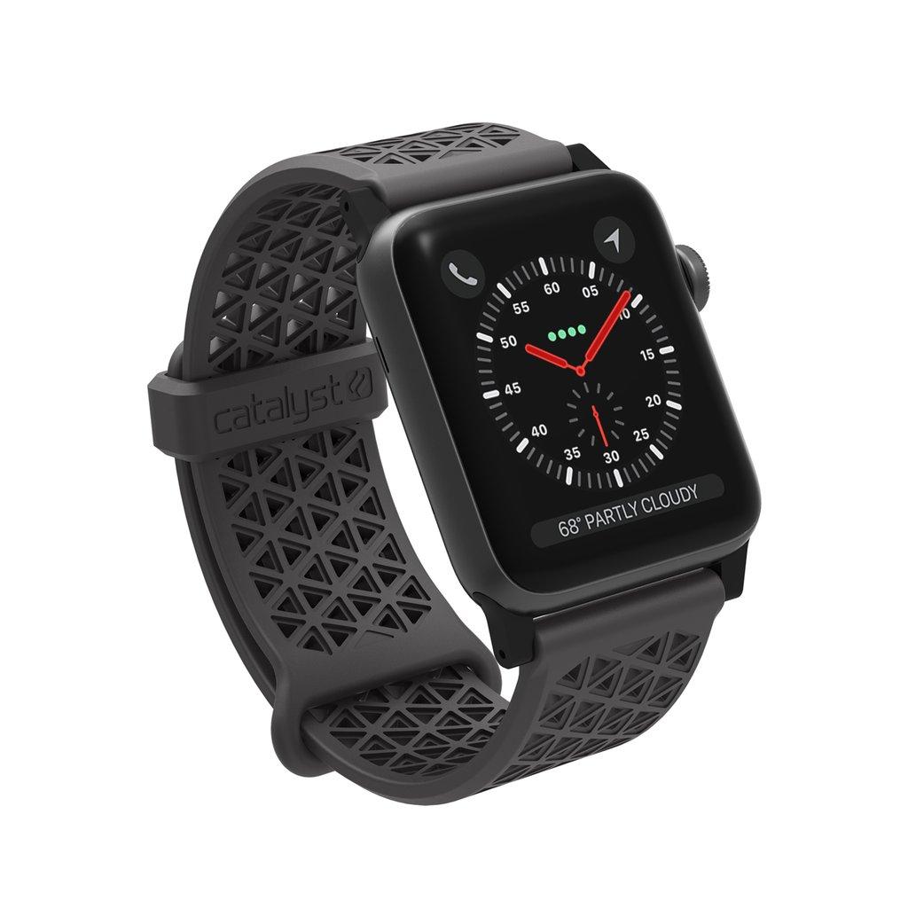 Catalyst Ανταλλακτικό Λουράκι Σιλικόνης Apple Watch 5/4/3/2/1 - 44/42mm - Space Gray (CAT42SBGRY)