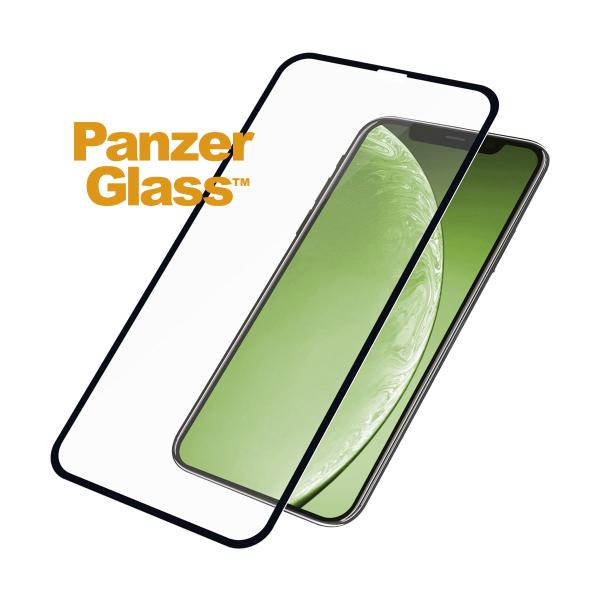 PanzerGlass Tempered Glass - Fullface Αντιχαρακτικό Γυαλί Οθόνης iPhone XR / 11 - Black (2665)