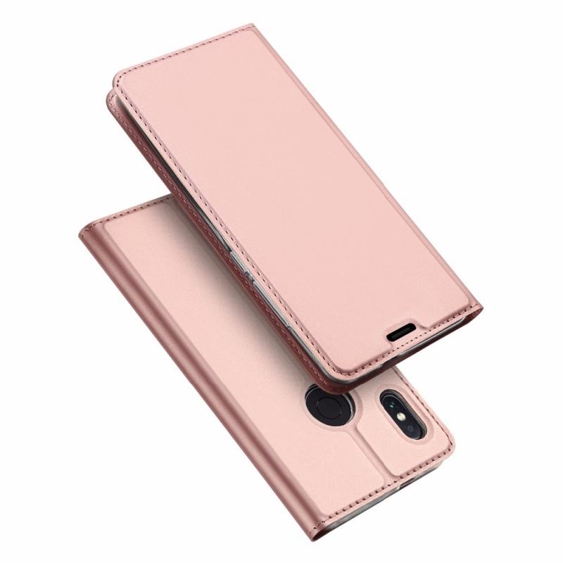 Duxducis SkinPro Flip Θήκη Xiaomi Redmi Note 5 / Redmi Note 5 Pro - Rose Gold (13532)