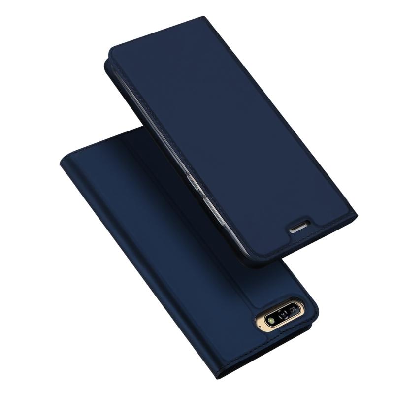 Duxducis Θήκη - Πορτοφόλι Huawei Y6 2018 - Blue (13558)