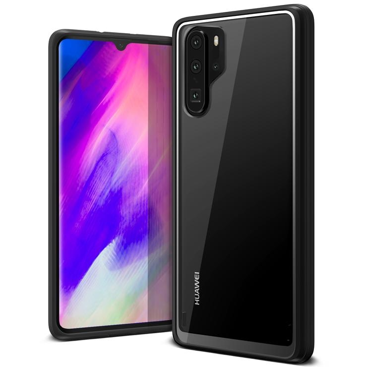 VRS Design Crystal Chrome Huawei P30 - Black (VRS-HP30P-CRC-BLK)