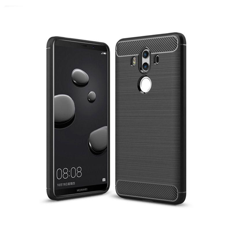 Θήκη TPU Carbon Huawei Mate 10 Pro - Black - OEM (11855)