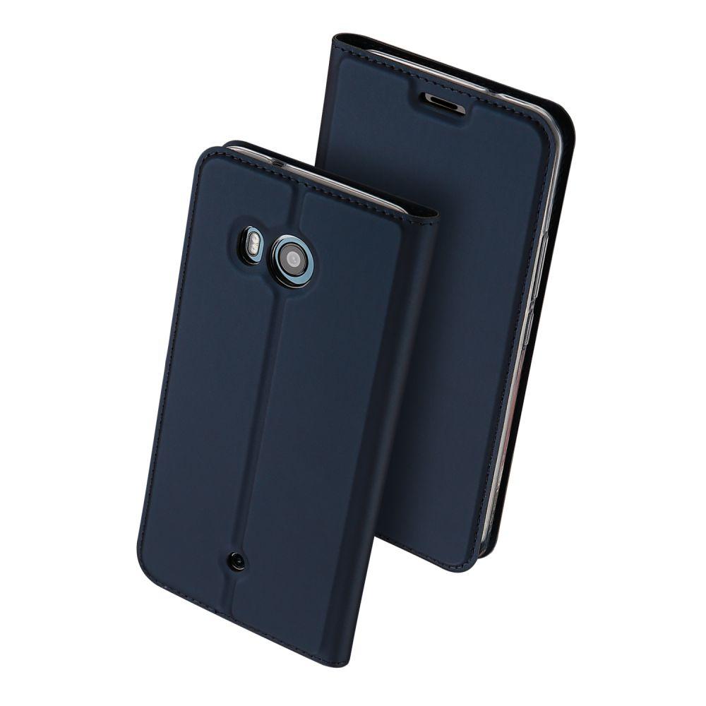 Duxducis Θήκη - Πορτοφόλι HTC U11 - Navy Blue (12020)