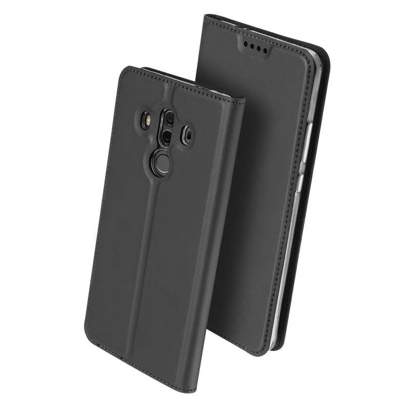 Duxducis Θήκη - Πορτοφόλι Huawei Mate 10 Pro - Grey (12026)