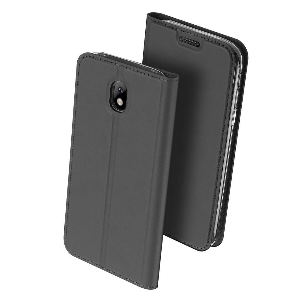 Duxducis Θήκη - Πορτοφόλι Samsung Galaxy J7 2017 - Grey (11201)