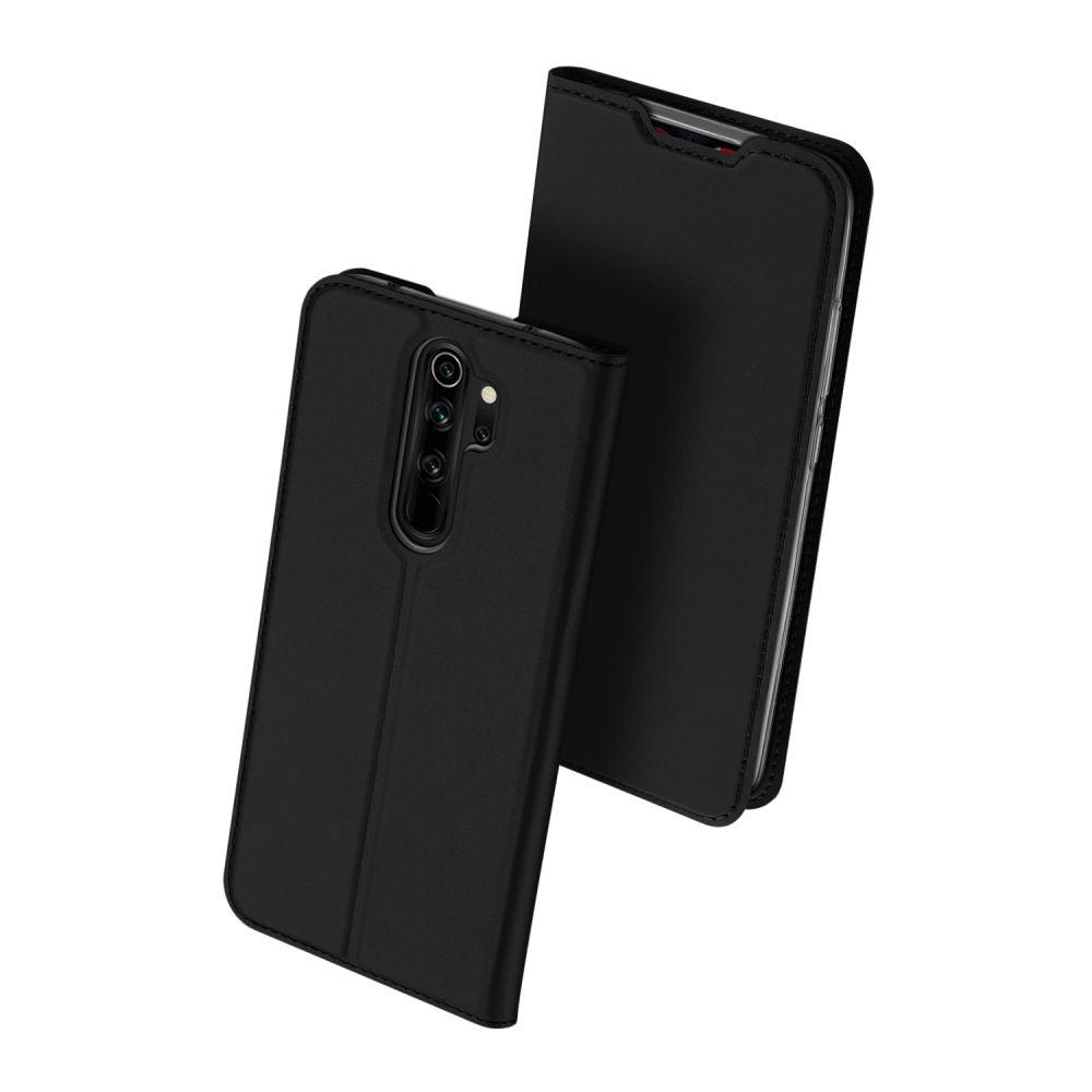 Duxducis SkinPro Θήκη Πορτοφόλι Xiaomi Redmi Note 8 Pro - Black (59494)