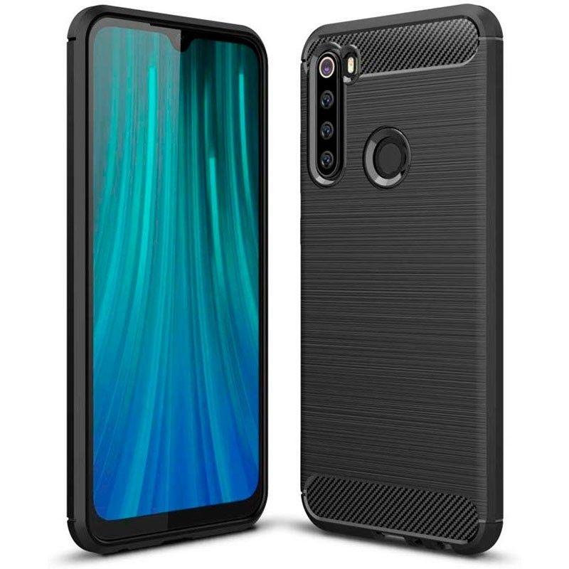 Θήκη TPU Carbon Xiaomi Redmi Note 8T - Black (60580) - OEM