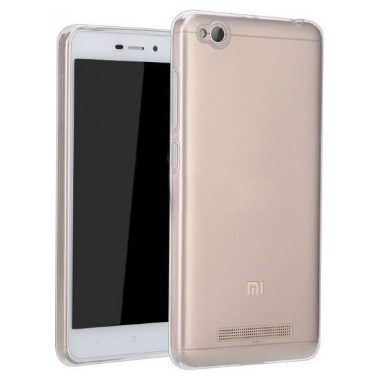 Official Xiaomi Θήκη Σιλικόνης Xiaomi Redmi 4A - Clear (NYE5628TY)