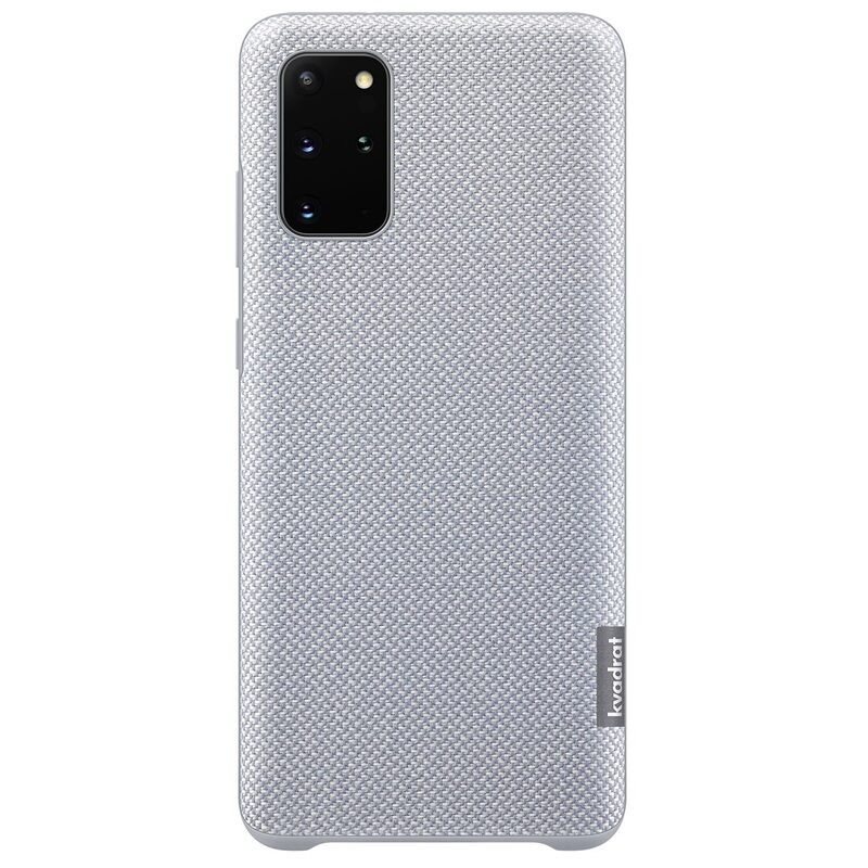Official Samsung Kvadrat Σκληρή Θήκη Samsung Galaxy S20 Plus - Gray (EF-XG985FJEGEU)