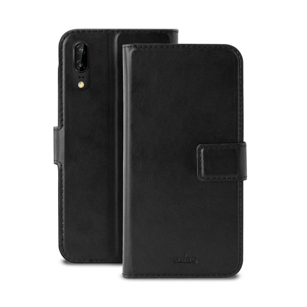 Puro Θήκη - Πορτοφόλι Huawei P20 - Black (HWP20BOOKC4BLK)
