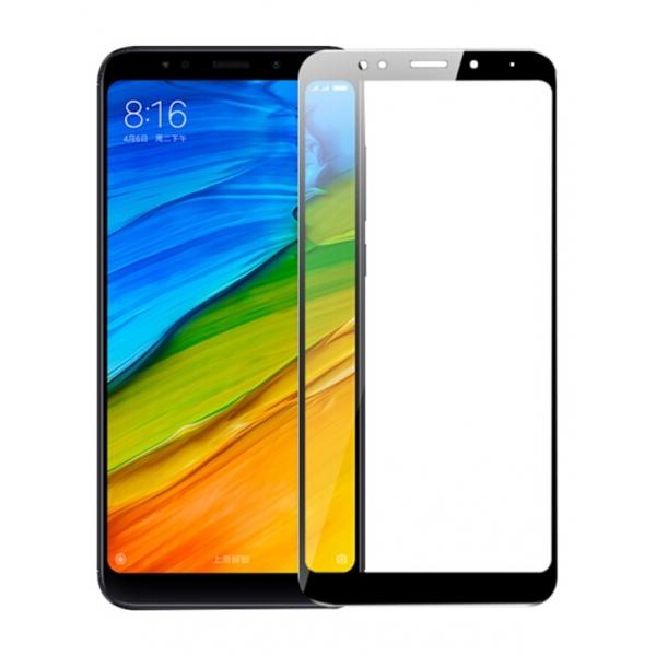 RedShield Tempered Glass - Fullface Αντιχαρακτικό Γυαλί Οθόνης Xiaomi Redmi 5 Plus - Black (RSHITEMP38BK)