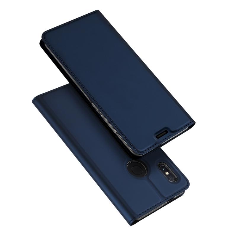 Duxducis SkinPro Flip Θήκη Xiaomi Redmi Note 5 / Redmi Note 5 Pro - Blue (13533)