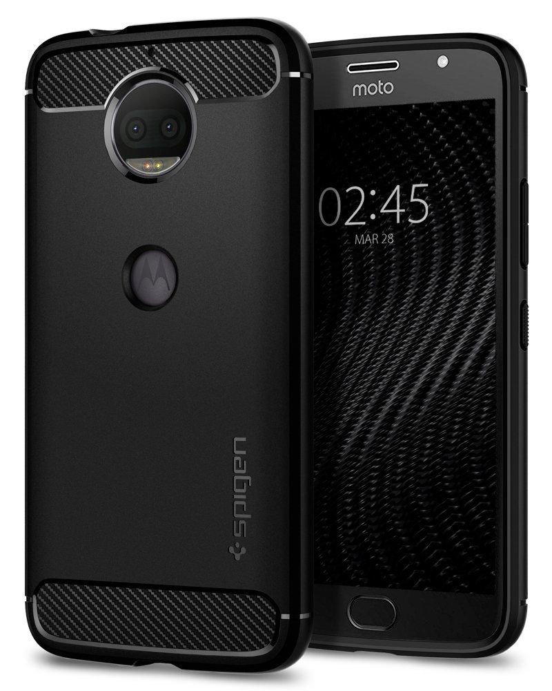Spigen Θήκη Rugged Armor Motorola Moto G5S - Black (M16CS22313)
